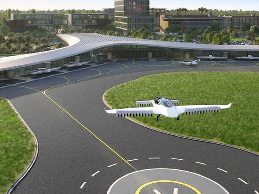 Mobil Terbang Sudah di Depan Mata, Florida Siapkan Bandaranya