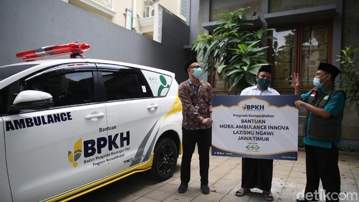 BPKH memberikan satu unit ambulance kepada NU Care-Lazis NU cabang Ngawi. Ambulans ini akan membantu operasional sosial NU Care-Lazis NU.