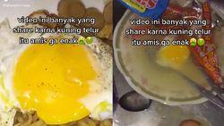 Buang Kuning Telur dari Mie Instan, Video Ini Bikin Nyesek Netizen