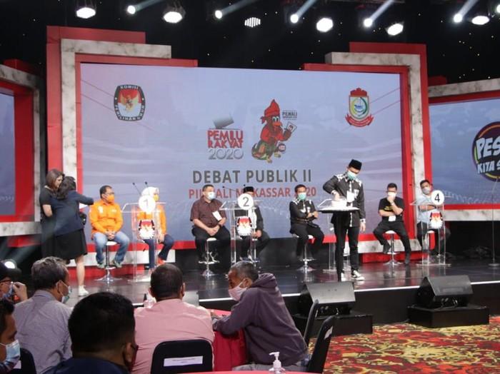 Debat kedua Pilwalkot Makassar (dok KPU Makassar)