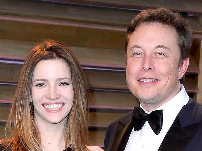 Elon Musk dan Eks Istri, Talulah Riley