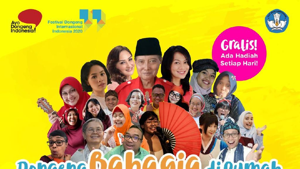 Festival Dongeng Internasional Indonesia 2020 Tetap Digelar di Masa Pandemi