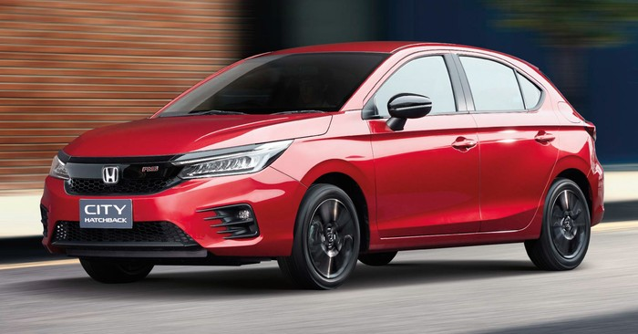NJKB Honda City Hatchback Muncul, Siap Gantikan Jazz di RI?