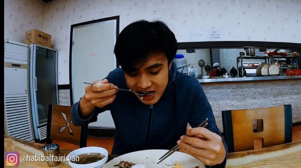 Jadi TKI di Korea Selatan, Pria Ini Pamer Menu Makan Gratis Tiap Hari