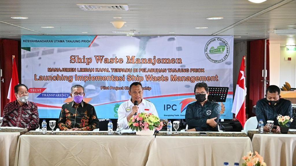 Pelabuhan Tanjung Priok Kini Punya Manajemen Limbah Kapal Terpadu