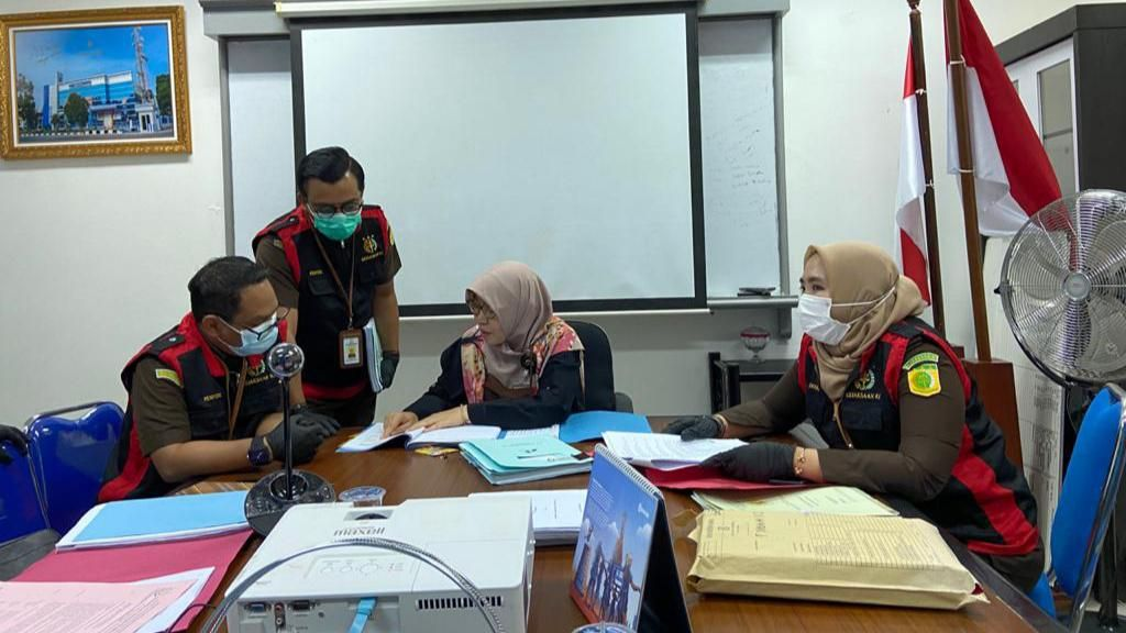 Usut Dugaan Korupsi Rp 2,3 M, Kejaksaan Geledah Kantor Bank di Sumsel