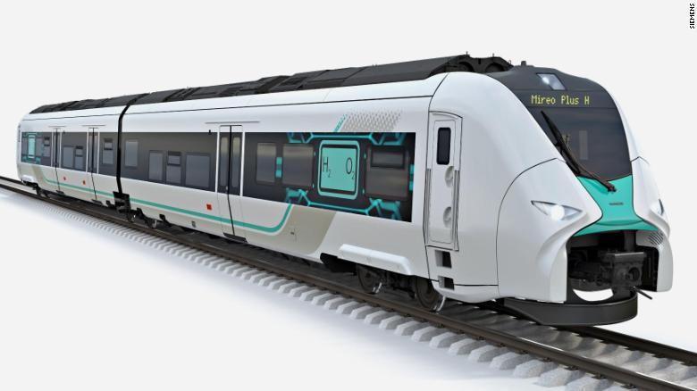 Kereta hidrogen Mireo Plus H Jerman