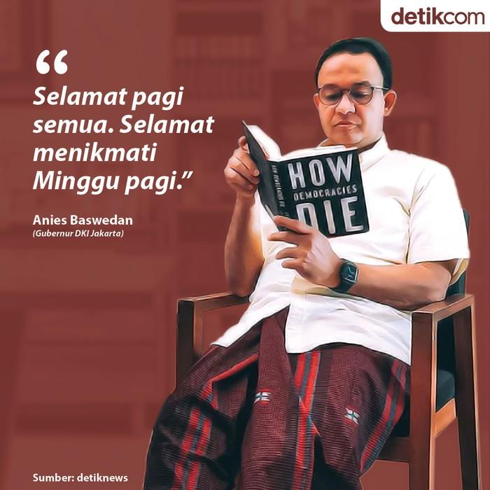 Kuot Politik: Kontroversi Anies Pamer Baca Buku 'How Democracies Die'