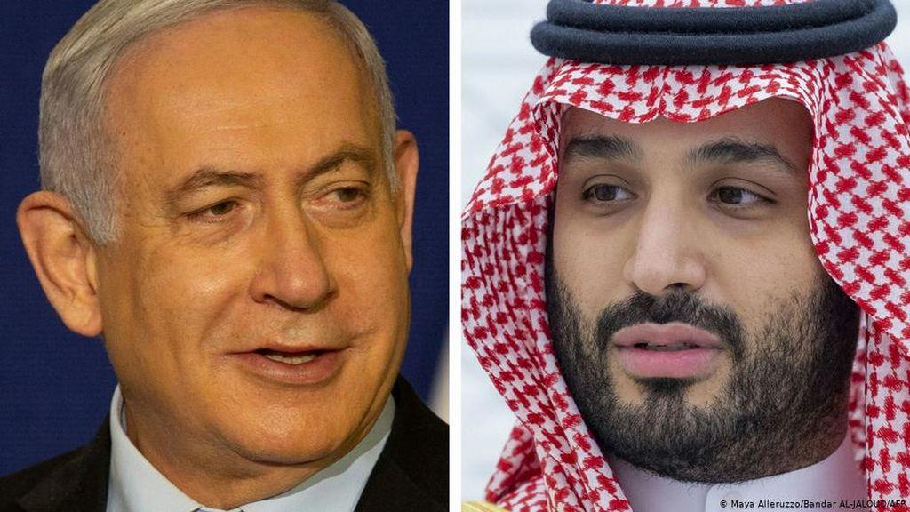 Klaim Israel Temui MBS Ditepis Saudi Hanya dengan Menlu AS