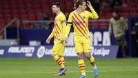 Ribut dengan Messi di Barcelona? Ini Klarifikasi Griezmann