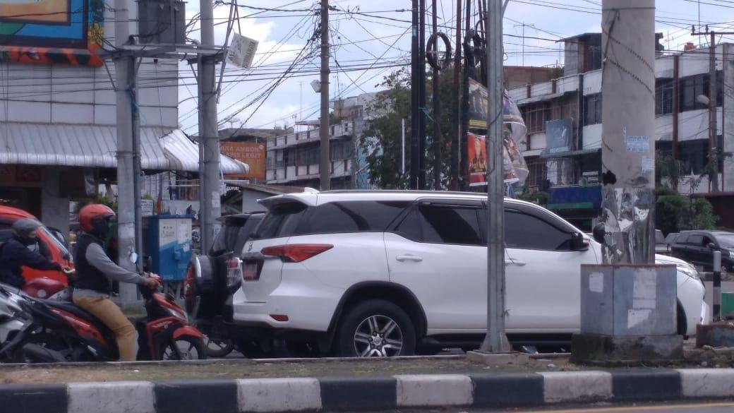 Lokasi spanduk tolak Habib Rizieq sempat terpasang di Medan (Datuk Haris-detikcom)