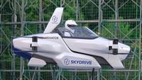 Potret Mobil Terbang Keren dari Jepang