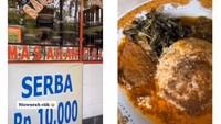 Cuma Rp 10.000, Bisa Puas Makan Nasi Padang di Sini!