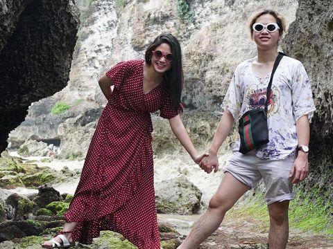 Potret Mesra Tissa Biani dan Dul Jaelani
