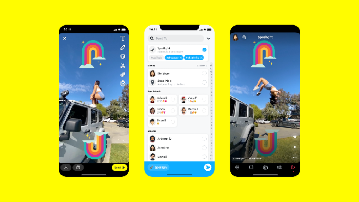 Snapchat Sptotlight, fitur pesaing TikTok
