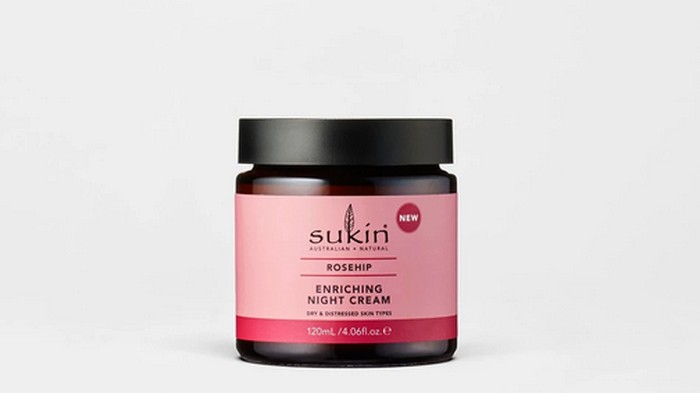 Sukin Rosehip Enriching Night Cream.