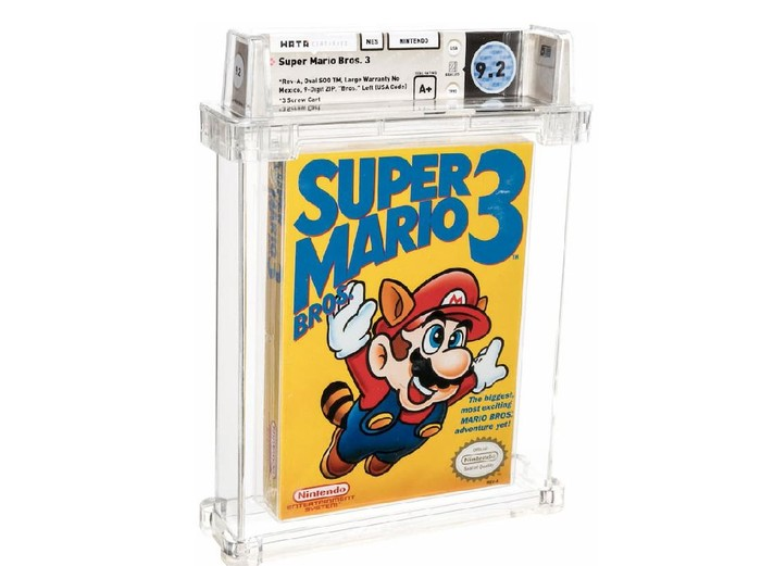 Super Mario Bros. 3 game termahal di dunia