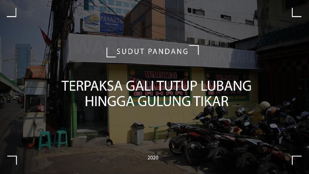 Kembang Kempis Nafas Warteg di Jakarta
