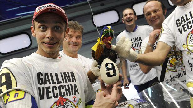Valentino  Rossi di Valecia 2009