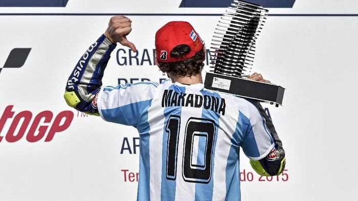 Valentino Rossi di Argentina 2015