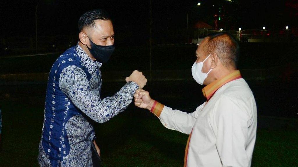 AHY Cerita Isi Pertemuan dengan Gubsu: Tak Ada Hubungan dengan Politik