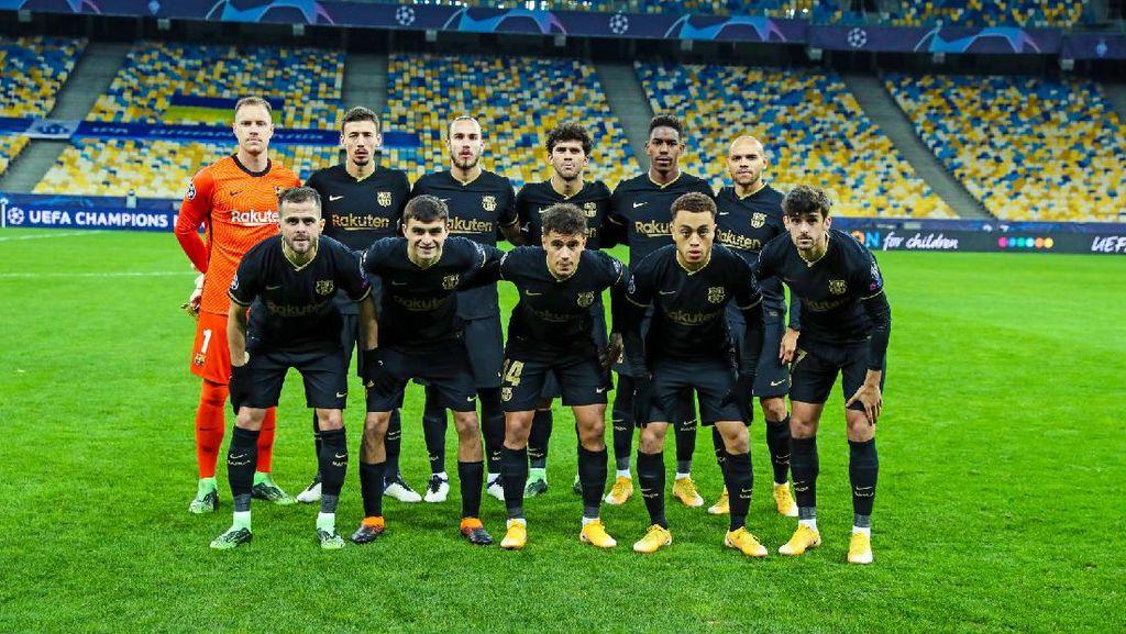 Kiev Vs Barcelona: Koeman Angkat Topi buat Pemain-pemain Muda