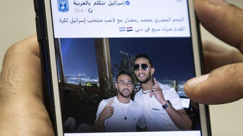 Berfoto dengan Selebriti Israel, Penyanyi Mesir Hadapi Tuntutan Hukum