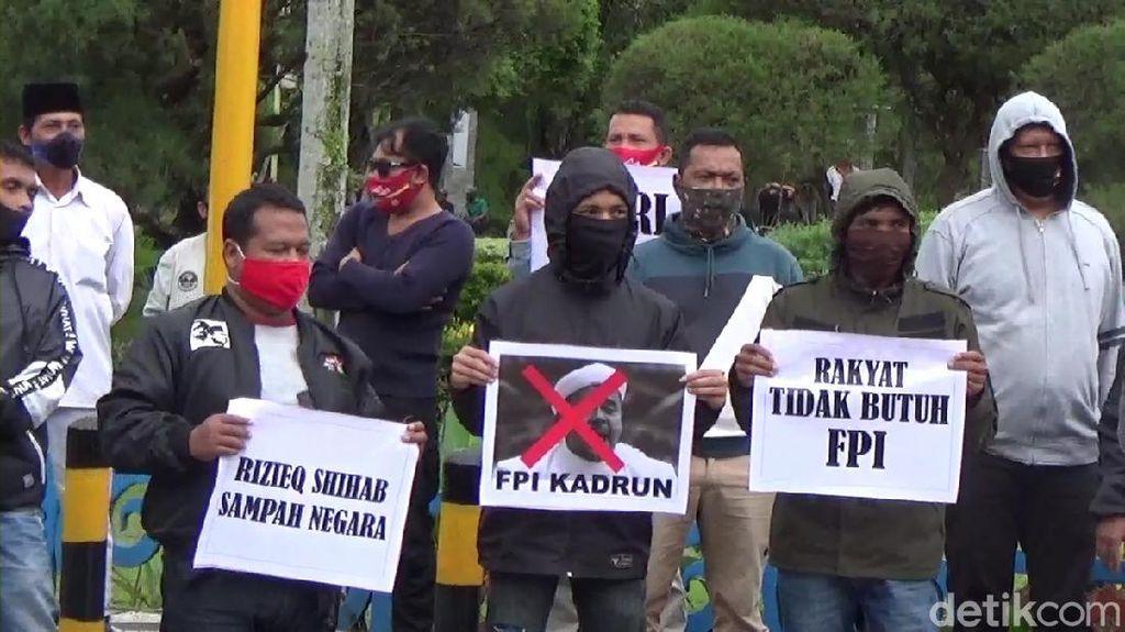 Sejumlah Daerah Demo Tolak Rizieq, Polri Ingatkan Prokes
