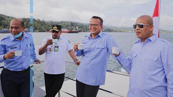 Edhy Prabowo, Menteri KKP yang Hobi Mancing
