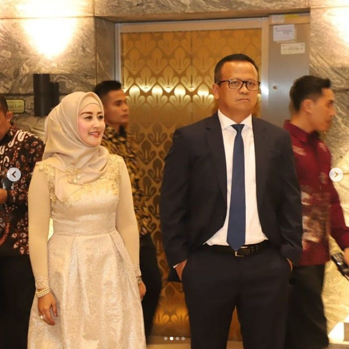 Iis Rosita Dewi, Istri Edhy Prabowo