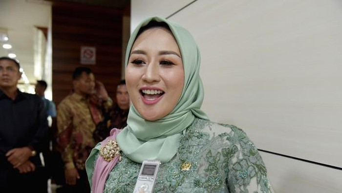 Iis Rosita Dewi, istri Edhy Prabowo (Dok: dpr.go.id)