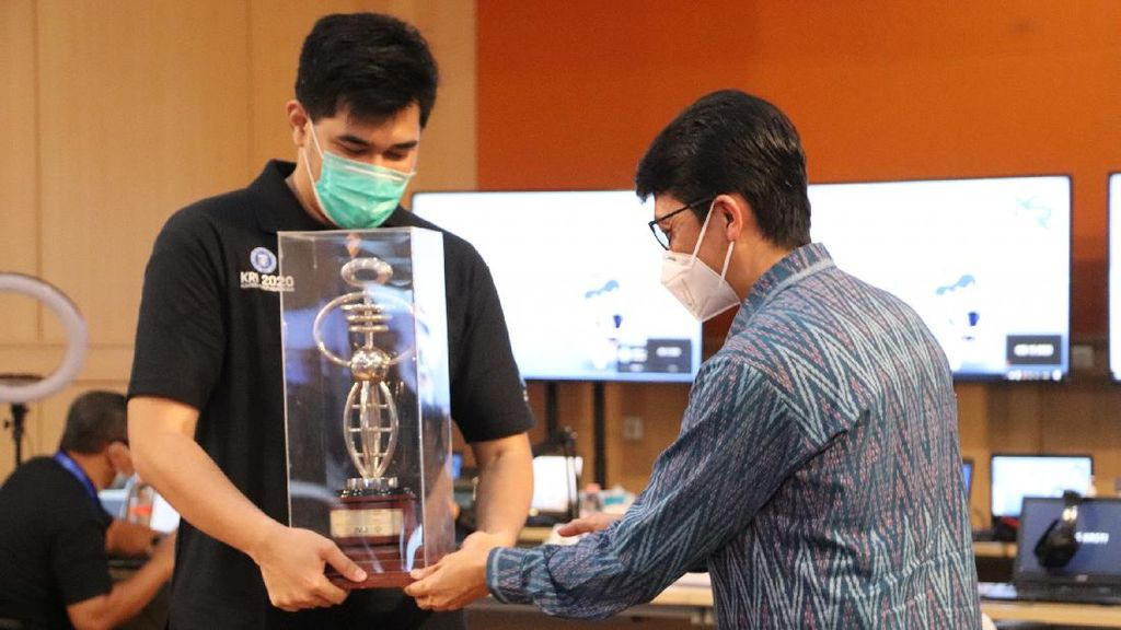 ITS Sabet Juara Kontes Robot Indonesia 2020