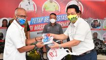 Kemenpora Serahkan 14.442 Paket Alat Pelindung Diri ke KONI NTB