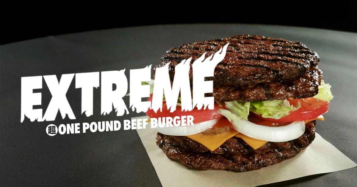 Kenyang! Burger Ini Dibuat dengan Setengah Kilo Daging Sapi