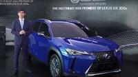 Mobil Listrik Pertama Lexus UX 300e Meluncur di Indonesia
