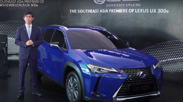 Mobil listrik Lexus resmi diluncurkan di Indonesia