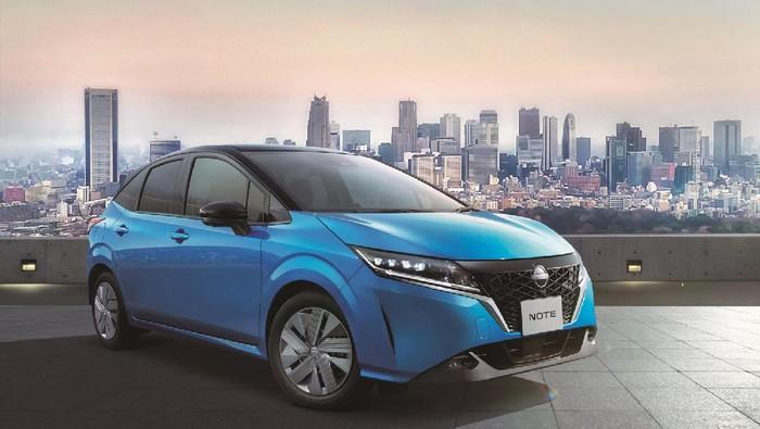 Nissan Note e-Power generasi terbaru.