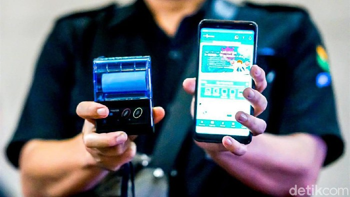 Pembayaran retribusi pedagang pasar di Bandung bisa pakai aplikasi