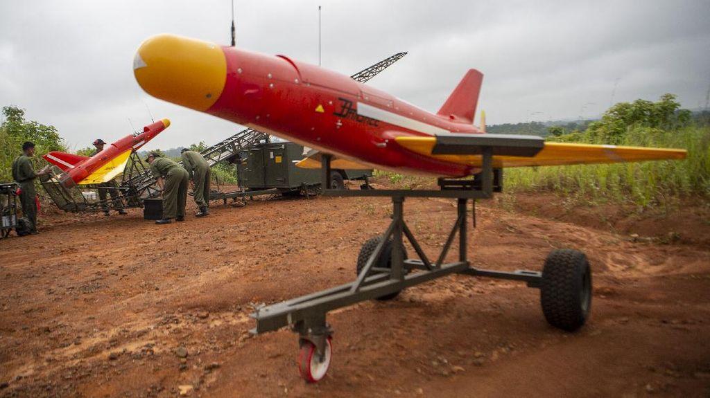 TNI AD Operasikan Drone Canggih Buatan Inggris
