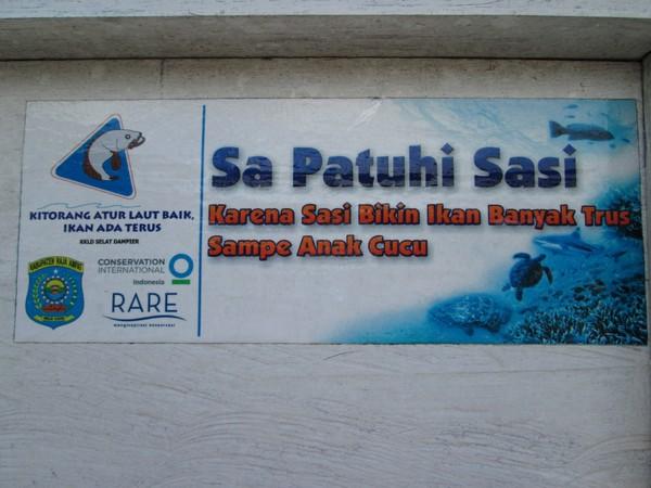 Sebagai contoh, bentuk sasi lainnya yaitu dapat dilihat pada nelayan Kampung Lopintol, Distrik Teluk Mayalibit, Kabupaten Raja Ampat. Nelayan Lopintol dikenal sebagai pencari ikan kembung atau dalam bahasa setempat dikenal dengan ikan lema.