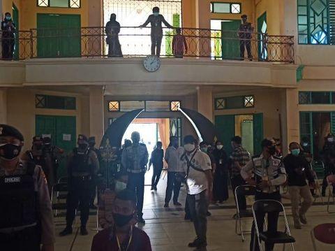 Satgas COVID-19 membubarkan ospek di IAIN Palangka Raya karena tak mengantongi izin (dok Polresta Palangka Raya)