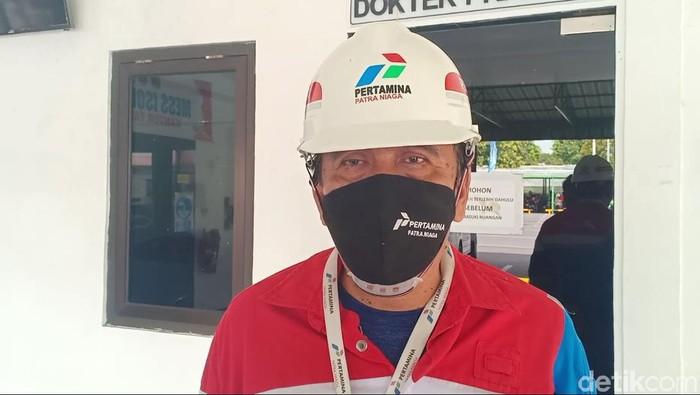 Supervisor PT Pertamina Patra Niaga Madiun Zaenal Mustakim