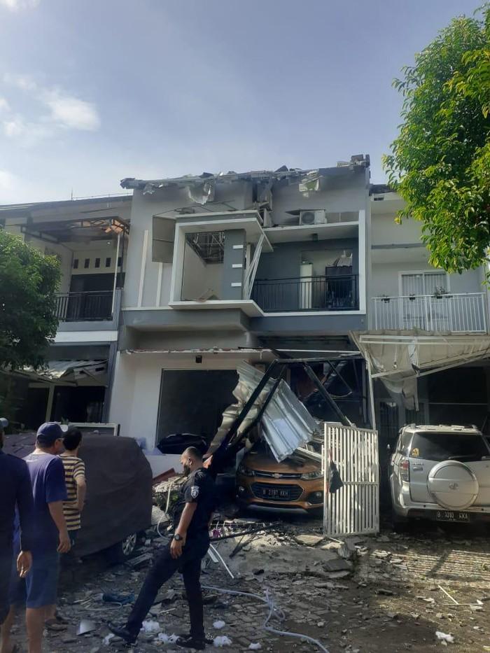 Tabung gas 12 kg meledak di Bekasi, Jawa Barat (Dok Istimewa)