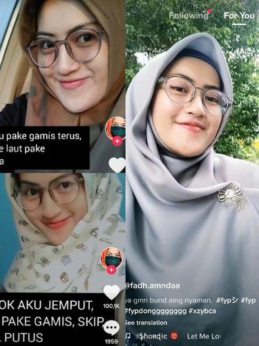 Kisah Fadhilah Amanda yang diputusi karena memakai gamis