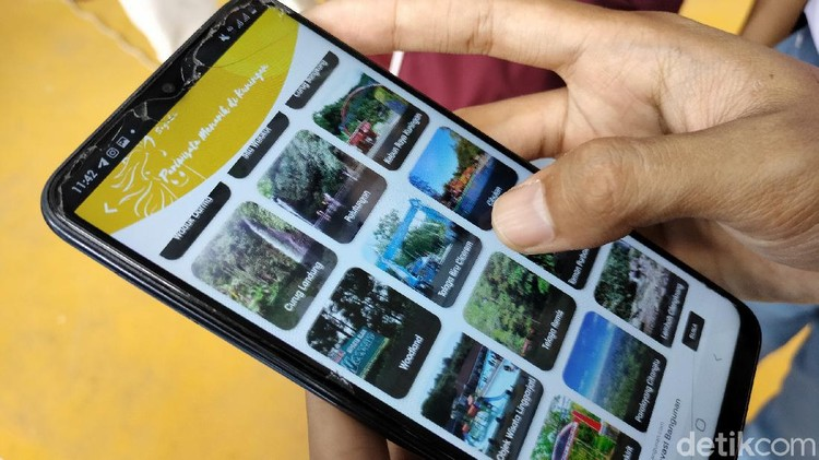 Aplikasi SAGAKU Buatan Siswa SMK di Kuningan berisi aneka informasi kabupaten