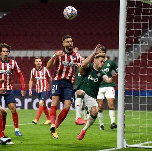 Atletico Madrid Vs Lokomotiv Moskow Berakhir 0-0