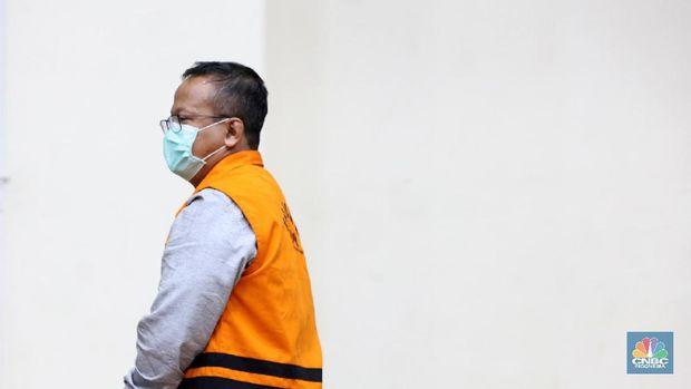 Barang Bukti Edhy Prabowo (CNBC Indonesia/Tri Susilo)