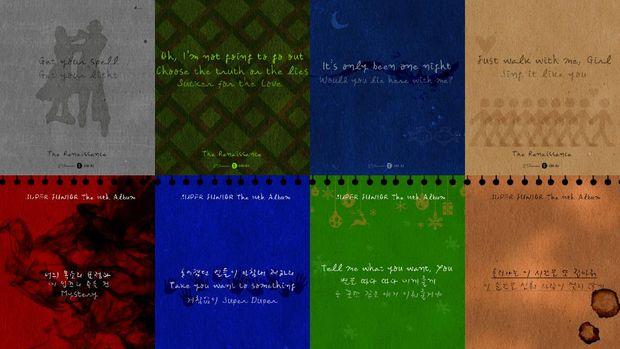 Catatan Lirik Album Super Junior