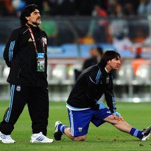 Messi: Maradona Tidak Pergi, Ia Abadi