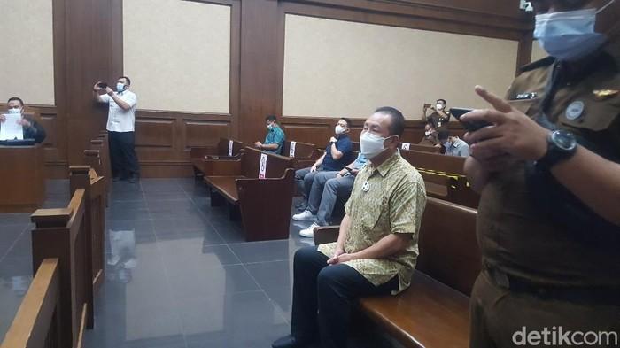 Djoko Tjandra bersaksi untuk Tommy Sumardi (Zunita/detikcom)
